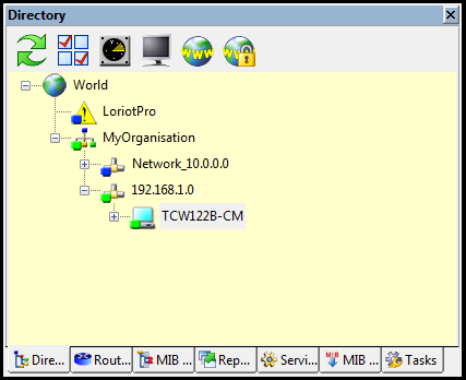 LoriotPro-Network-directory