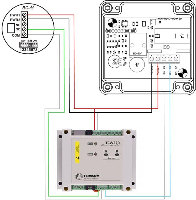 Schematic-rain-detector-test