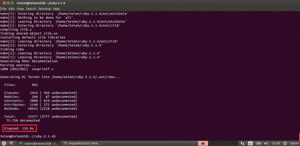 ThingSpeak-server-i3-Ruby-install