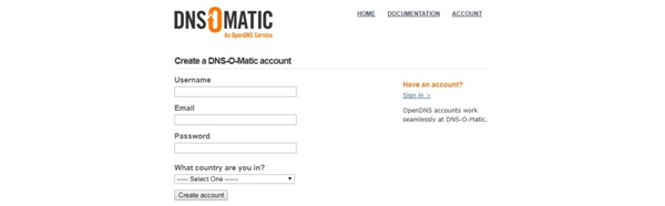ddns-dns-o-matic-account