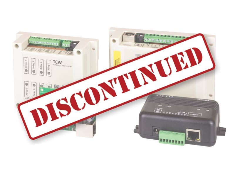 Discontinued Ethernet devices