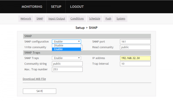 enable-snmp-controller