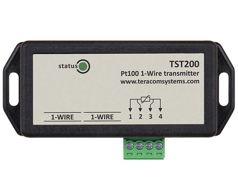 1-Wire Pt100 transmitter TST200 for accurate high